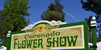Flower Show sign