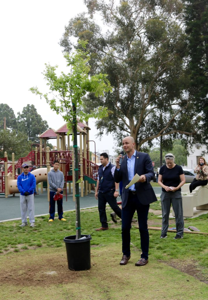 Arbor Day, Mayor Richard Bailey