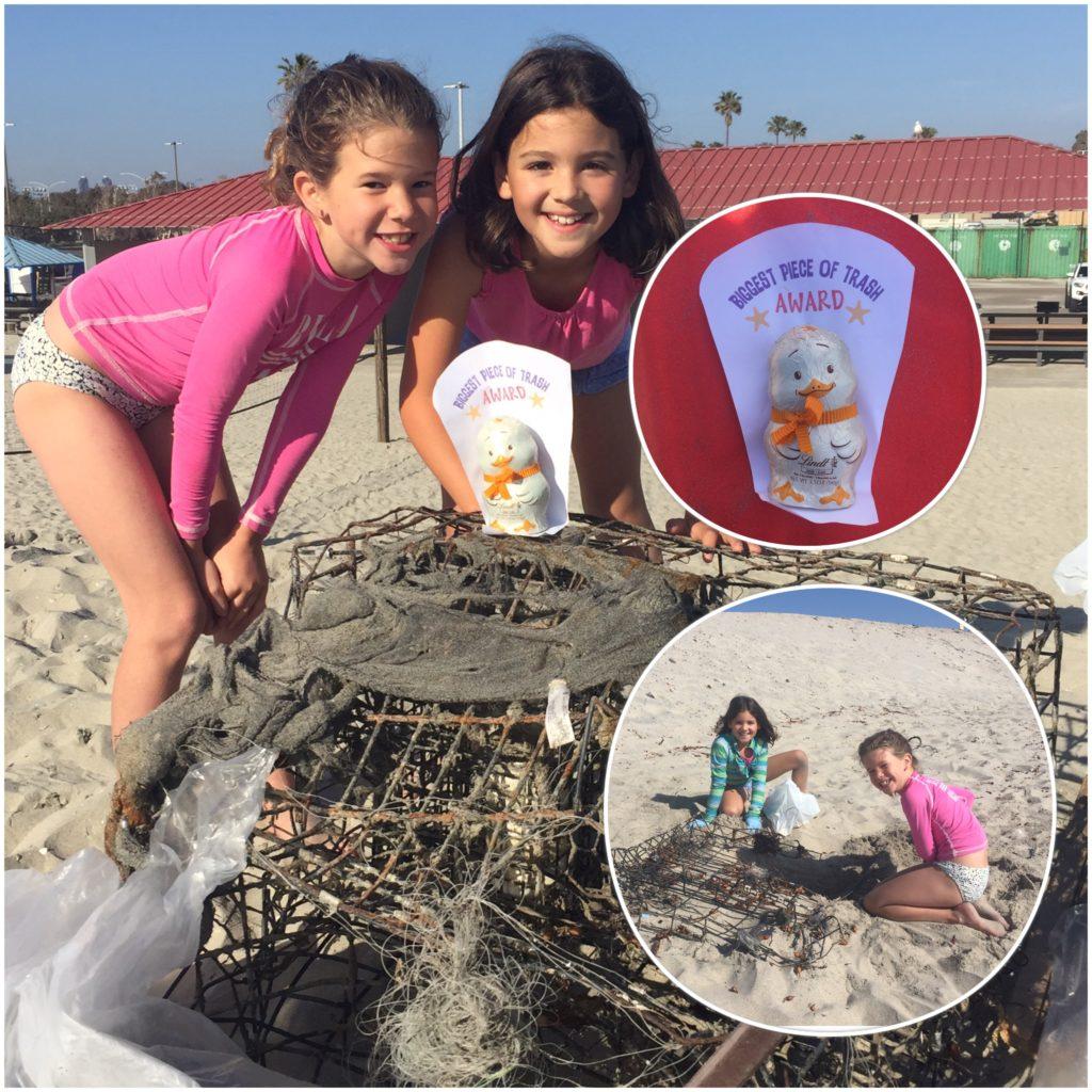 Gator Beach cleanup