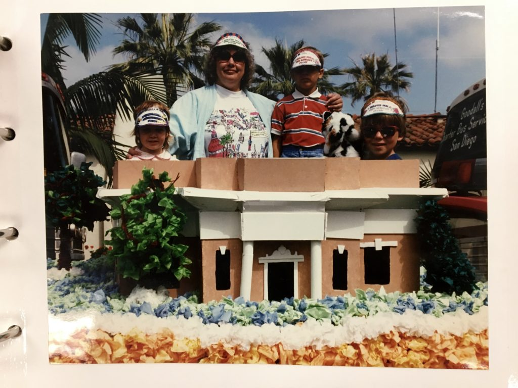 Coronado Library float
