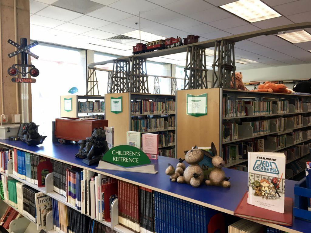 Coronado Children's Library train