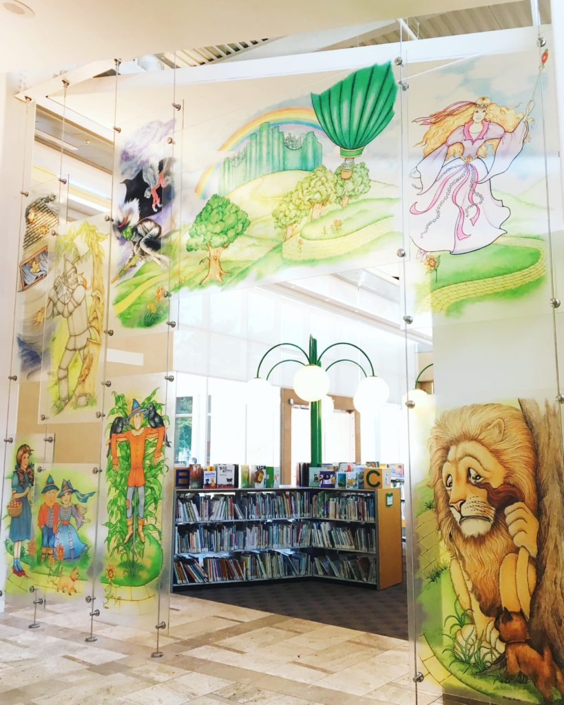 Coronado Children's Library Wizard of Oz