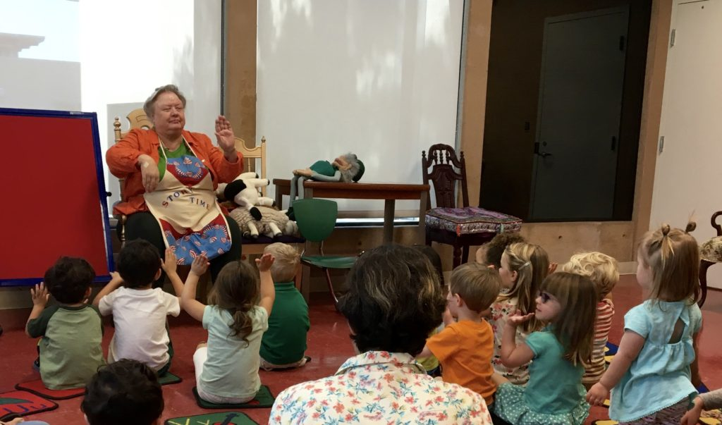 Coronado Children's Library storytime