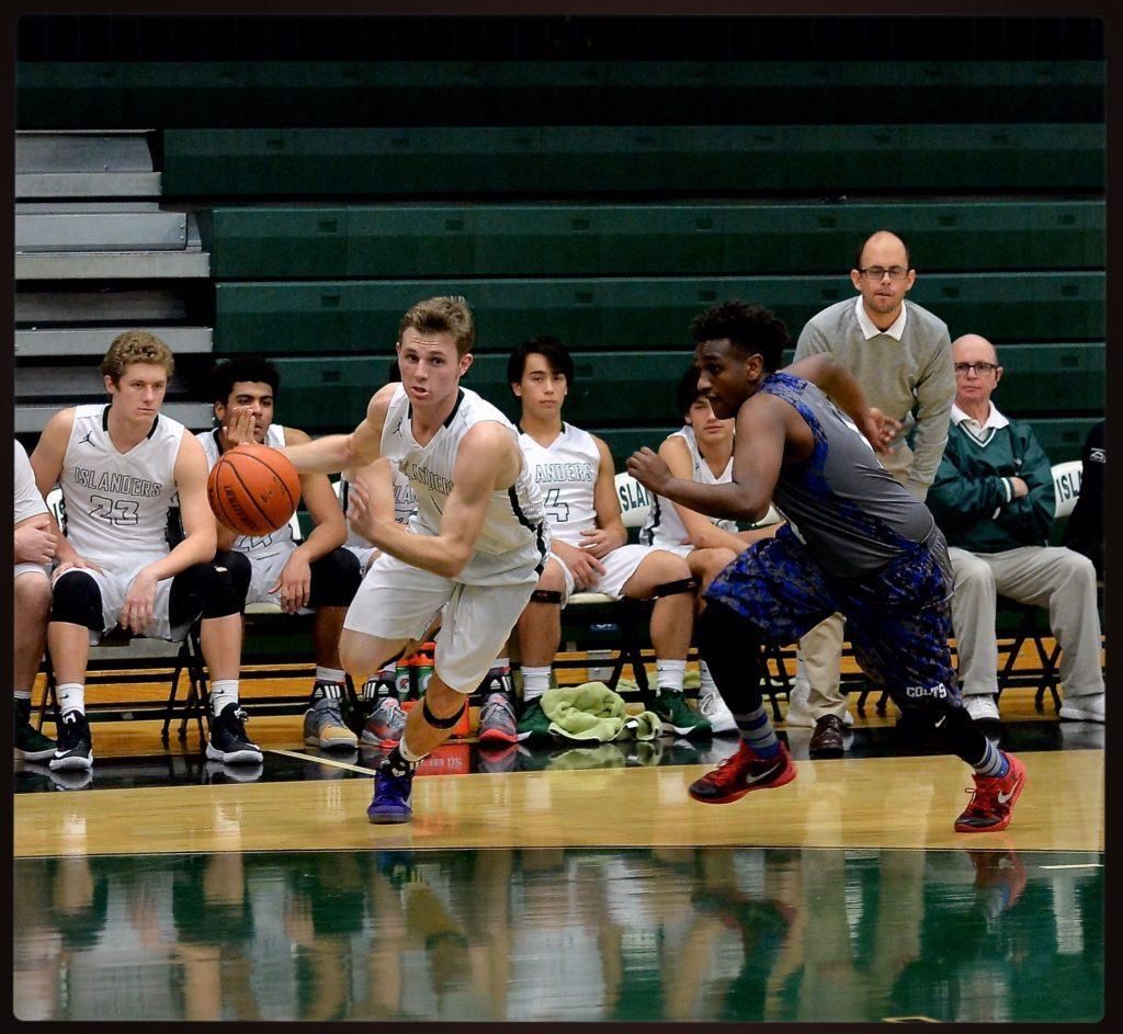 Myles Manning basketball