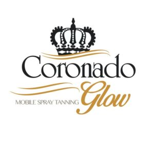 Coronado Glow spray tan logo