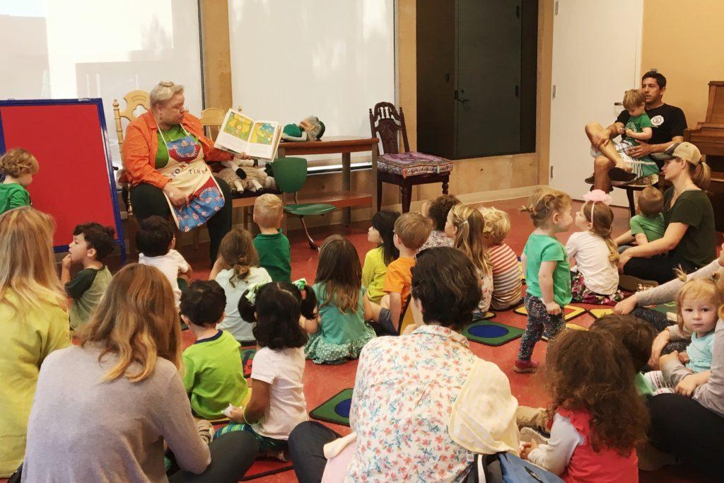 Ellenjoy Weber, Coronado Library storytime