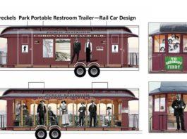 spreckels restroom trailer wrap