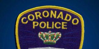 Coronado Police Patch logo