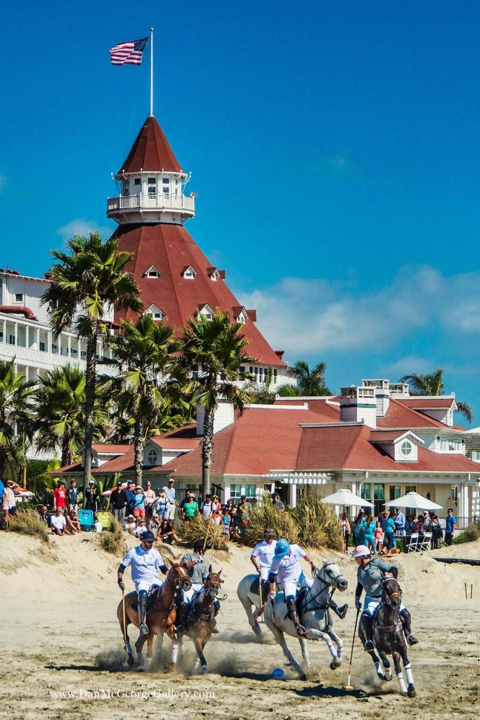 beach polo Hotel del Coronado