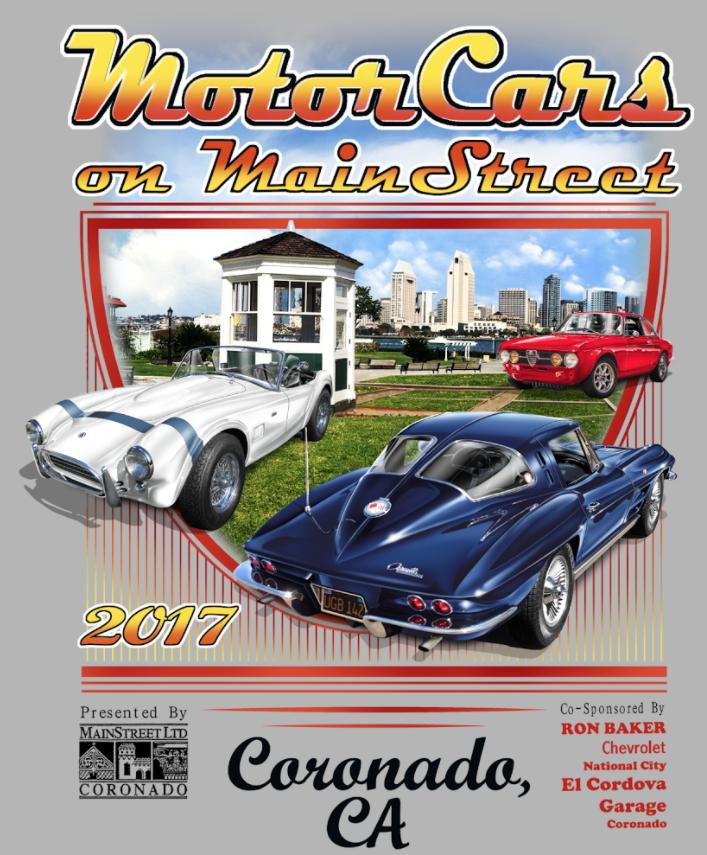 Th Annual MotorCars On MainStreet Car Show April Th Coronado - Main street car show