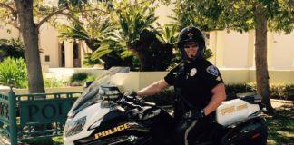 Coronado Police Motorcycle