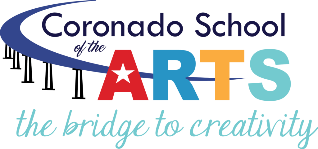 Coronado School of the Arts CoSA logo
