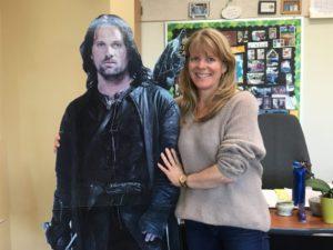 Ms. Davis and Aragorn