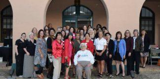 Lil Faralla Women's Museum award group