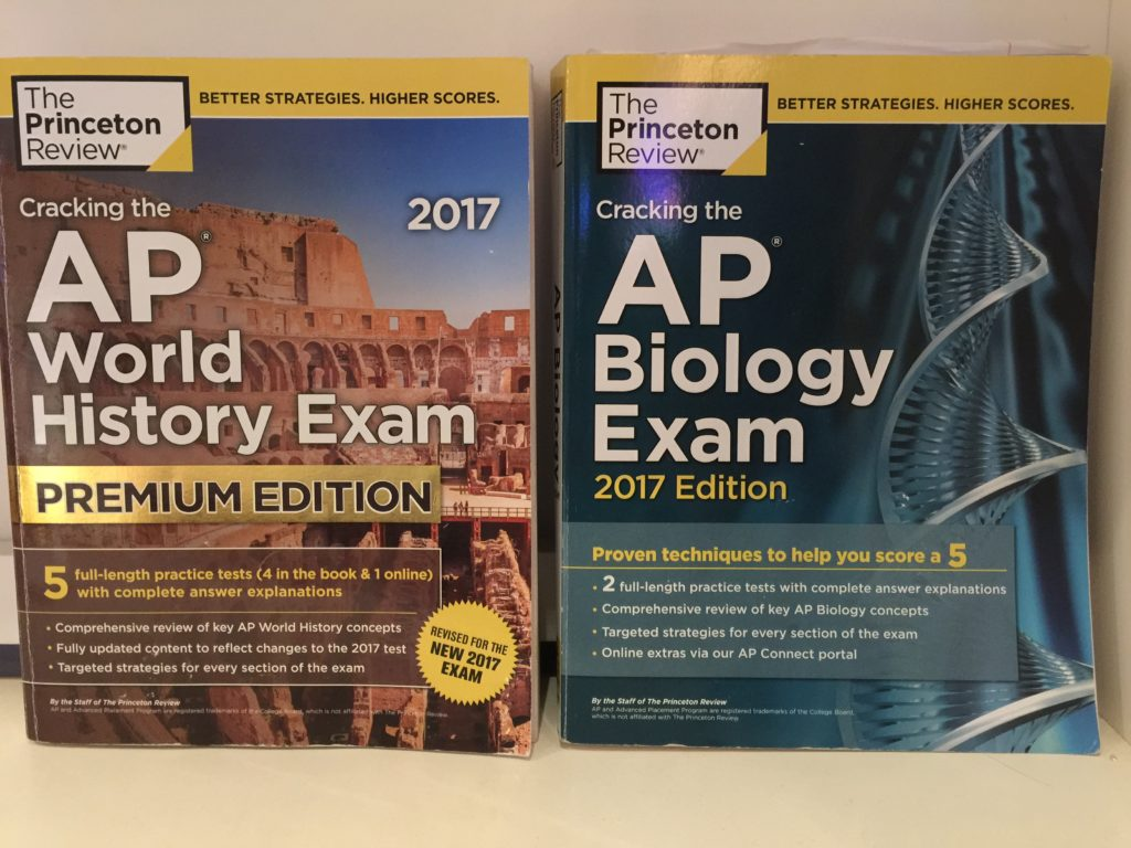 ap exam study books