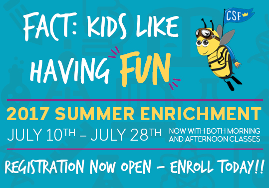 CSF summer enrichment 2017