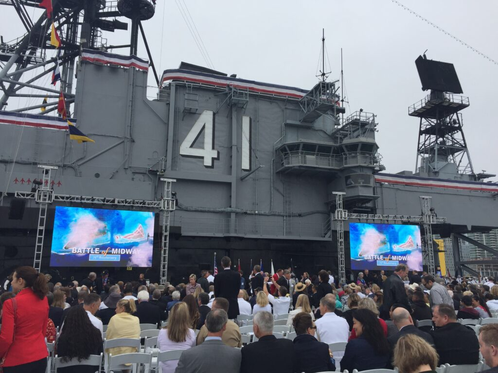 75th Anniversary Ceremony - Battle of Midway | Coronado Times