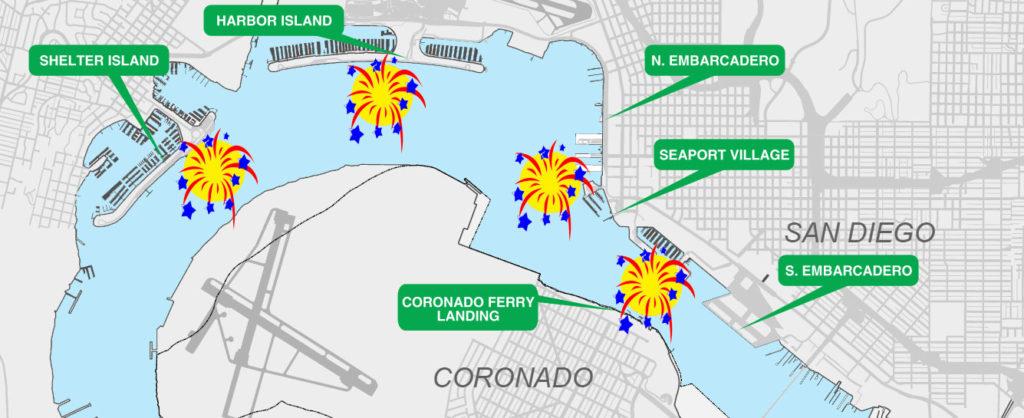 Big Bay Boom barge map