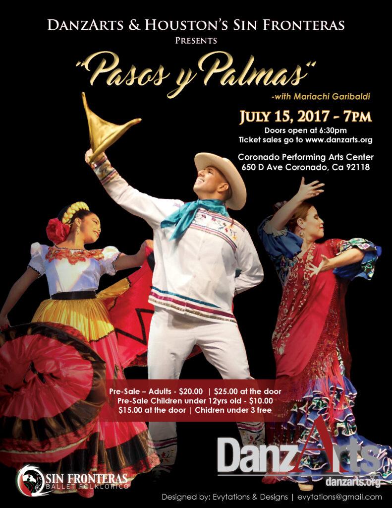 Danzarts Houstons Sin Fronteras Presents Pasos Y Palmas With