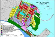 Coronado Zoning Map