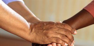hands, get along, friends, together