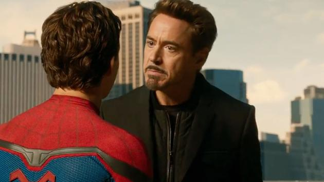 Spider-Man: Homecoming Robert Downey Jr.