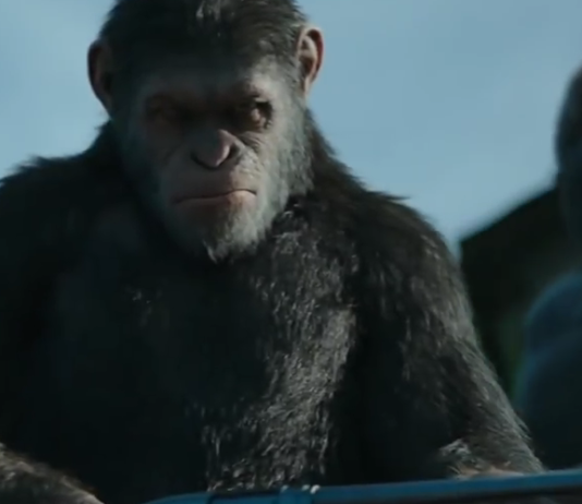 Ceaser with Gun War for the Planet fo the Apes