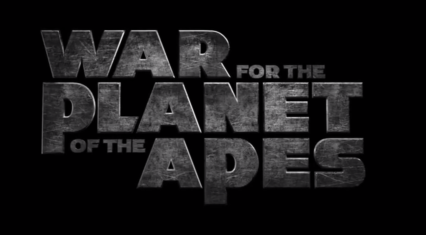 War for the Planet of the Apes logo from trailer