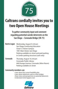 Caltrans Suicide prevention meeting