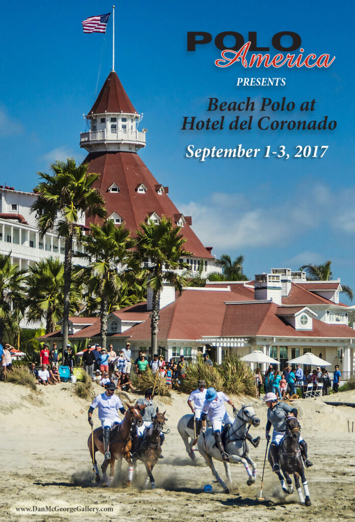 First Day Of This Year's Beach Polo At The Hotel Del