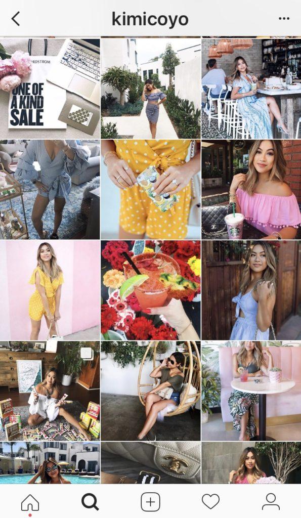 fashion blogging instagram