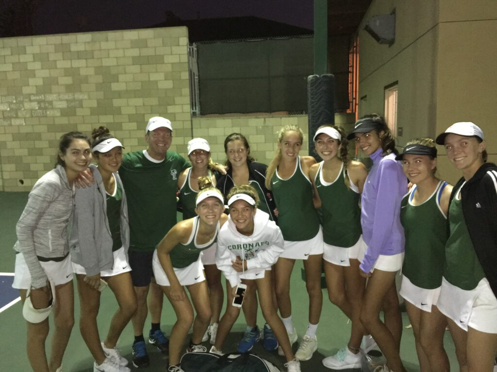 CHS Islanders girls varsity tennis