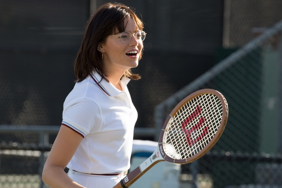 Emma Stone as Billie Jean King