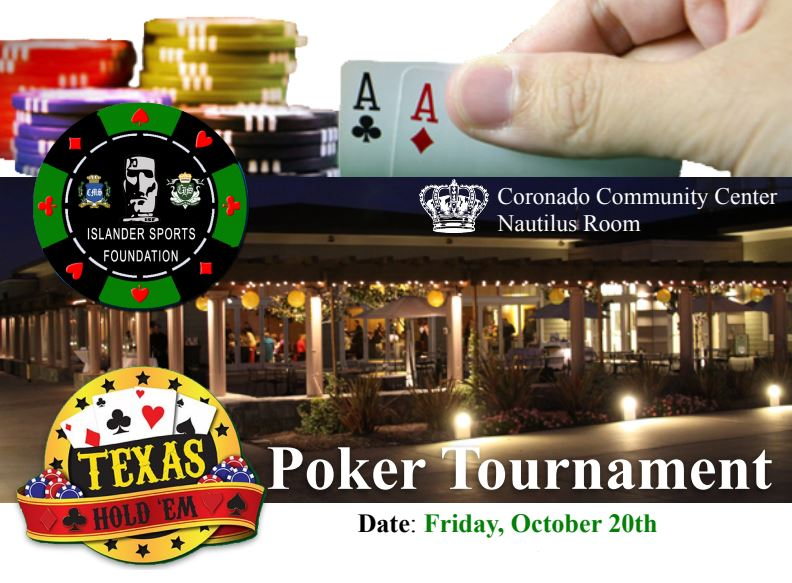 ISF Charity Poker Tournament - October 20 | Coronado Times