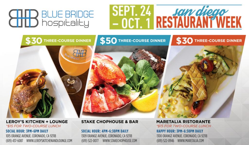 Coronado Restaurants For San Diego Restaurant Week