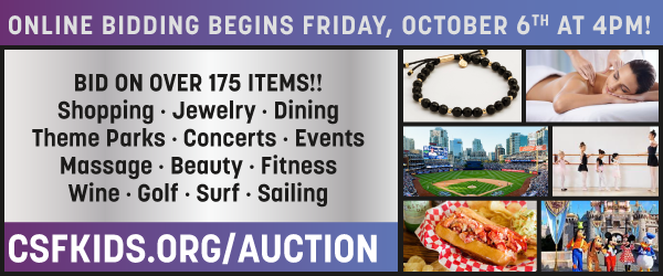 CSF benefit auction online bidding