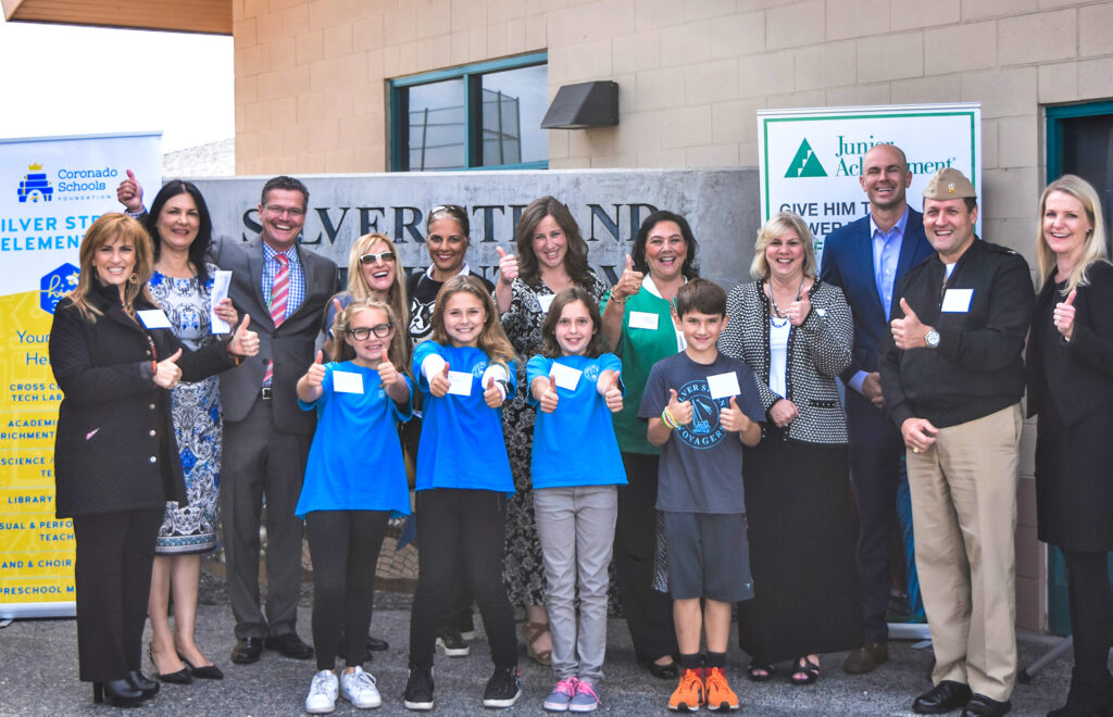 Junior Achievement And Cusd Join Forces To Prepare Next