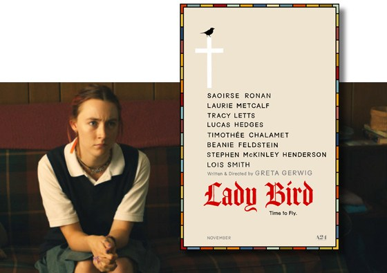 'Lady Bird' nominated for four Golden Globe awards