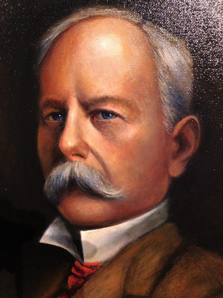Phil Martin's portrait of John D. Spreckels