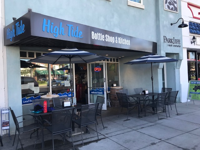 High Tide Bottle Shop & Kitchen