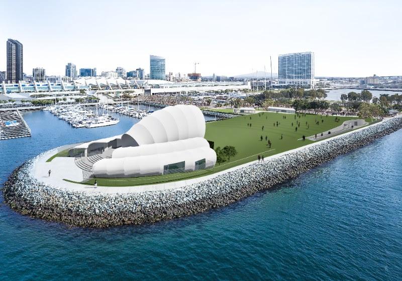 Bayside Performance Park rendering