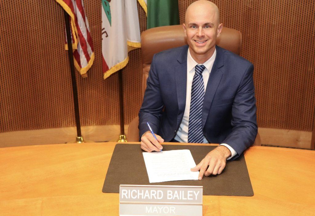 Mayor Richard Bailey