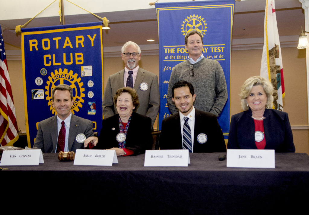 Coronado Rotary Club meeting