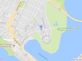 Vetter Park, Coronado, Google Maps