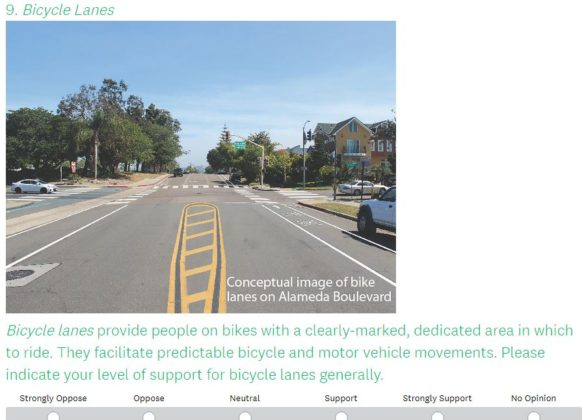 Active Transportation survey