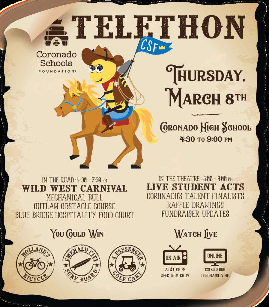 CSF Telethon March 8, 2018