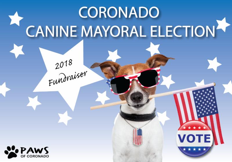 Coronado Canine Mayor Election 2018