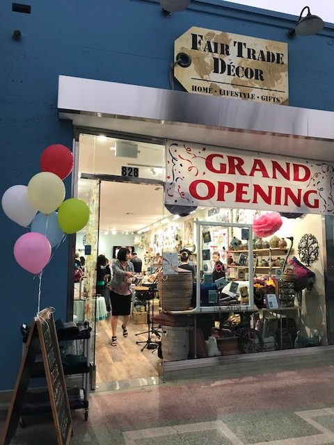 Fair Trade Décor Had Its Much Aned Grand Opening And Ribbon Cutting On Friday Evening The Which Opened Coronado Location Originally