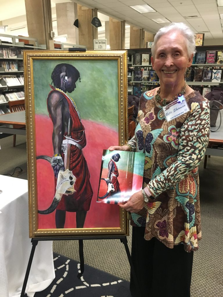 Bette Sherman, Night at the Library 2018