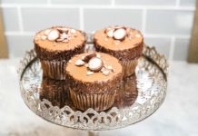 Coronado Coffee Malted Milk Chocolate Cupcakes